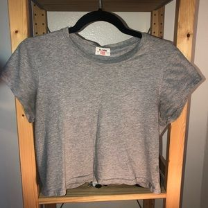 RE/DONE Boxy Crop Tee